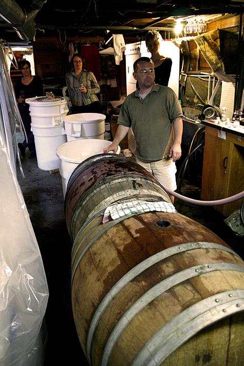 Garagistes bottling