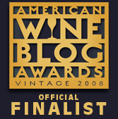 2008 American Wine Blog Awards Finalist logo