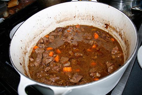 Whit's amazing lamb stew