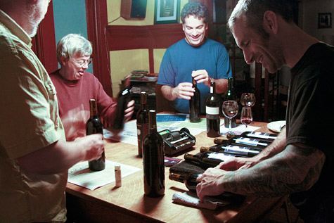 Labeling the Garagistes Cabernet