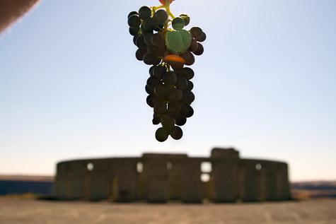 Syrah-crifice over Stonehenge