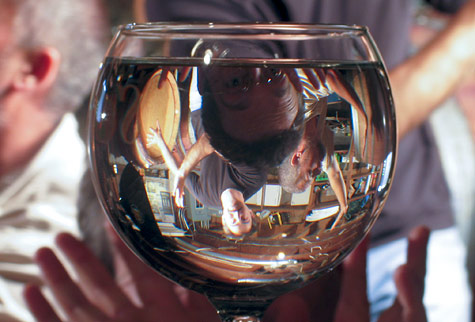Through a Wine Glass Darkly