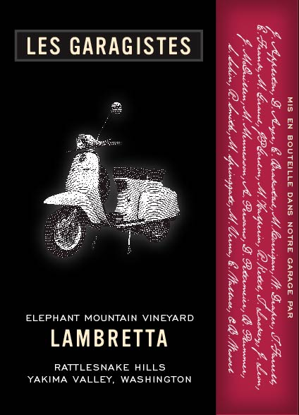 "Les Garagistes Lambretta ""Super Tuscan"" blend"