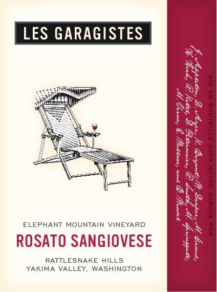 Les Garagistes Rosato Sangiovese