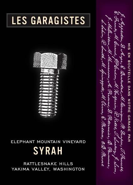 Les Garagistes Syrah