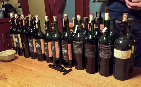 An 11 year vertical of our Peugeot Bordeaux-style blends