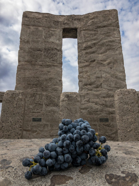 The ritual offering of Cabernet at Stonehenge